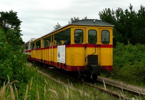 Żuławska Kolej Dojazdowa - wagonik retro