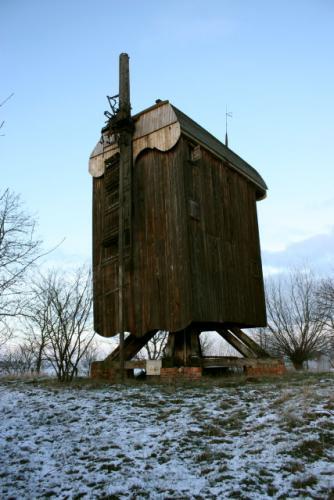 Wiatrak w Drewnicy